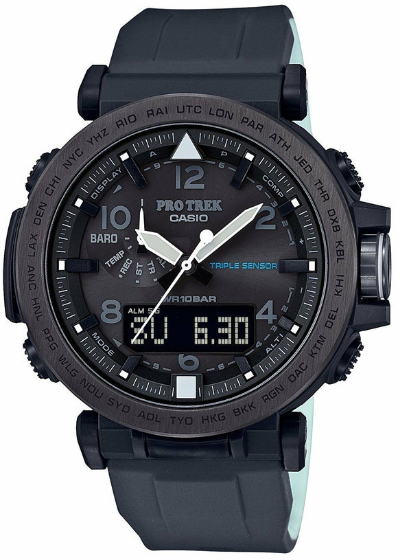 Casio PROTREK Night Safari Triple Sensor Ver.3 Watch - PRG650Y-1