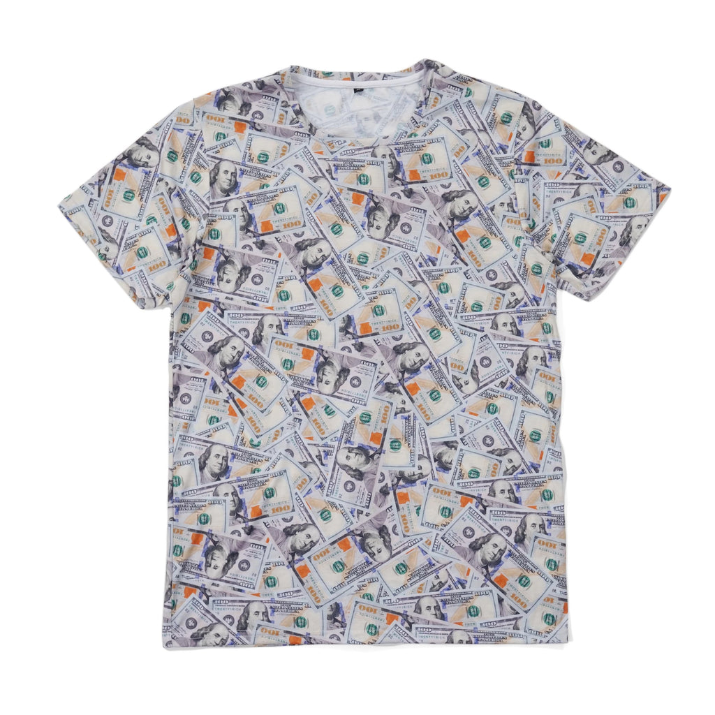 'Blue Hundreds' Collage Tee