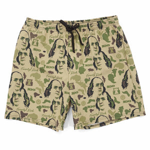 Desert Camo Swim Trunks