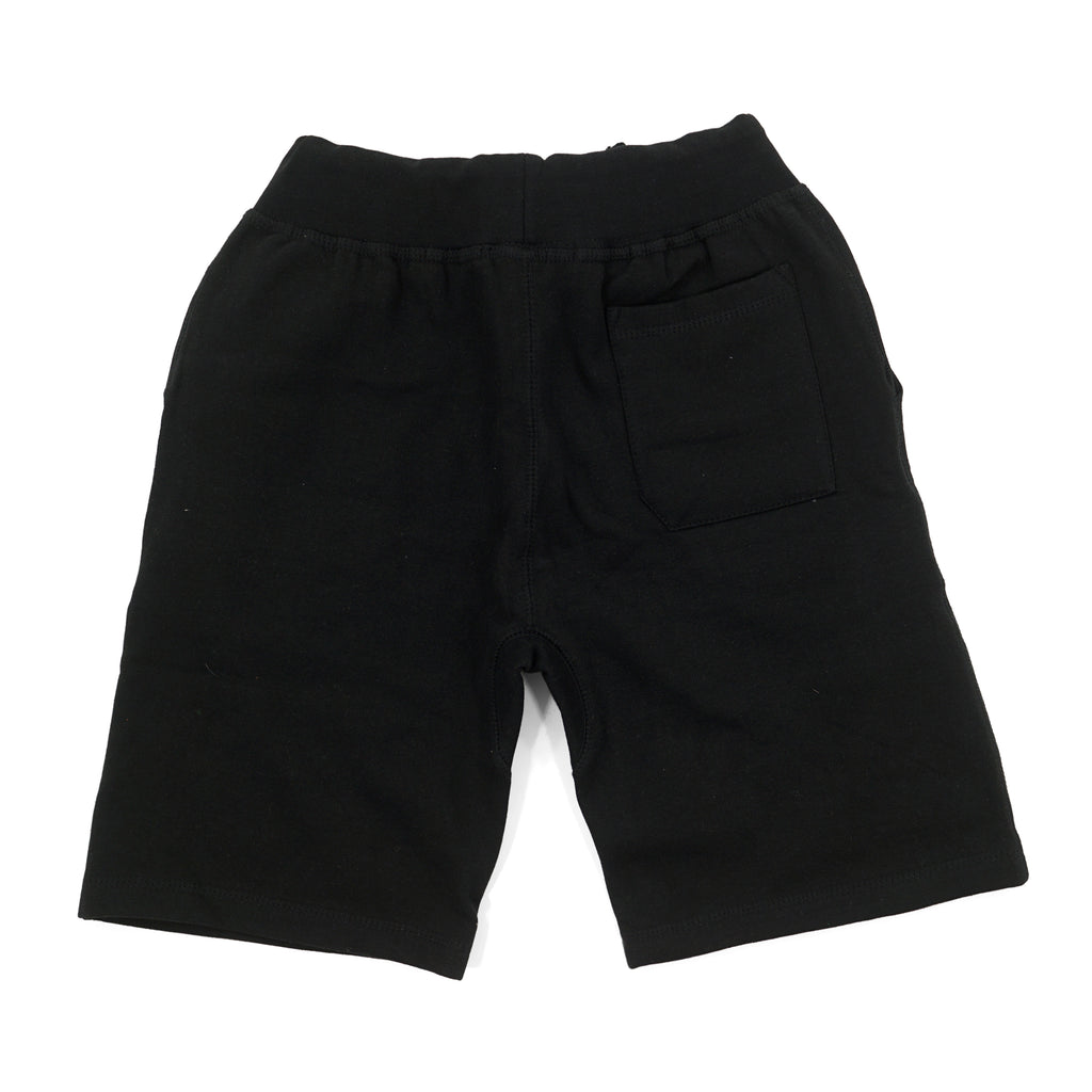 "Black ""Rich"" Shorts by Twenty1Rich (Back)"