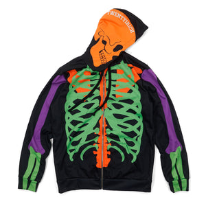 Rich to the Bones Zip Hoodie