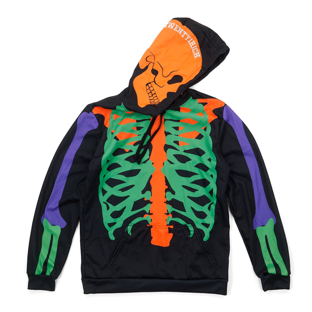 Rich to the Bones Pullover Hoodie