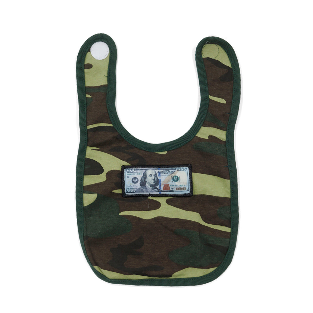 'Blue Hundreds' Camo Bib