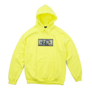 'Blue Hundreds' Highlighter Hoodie