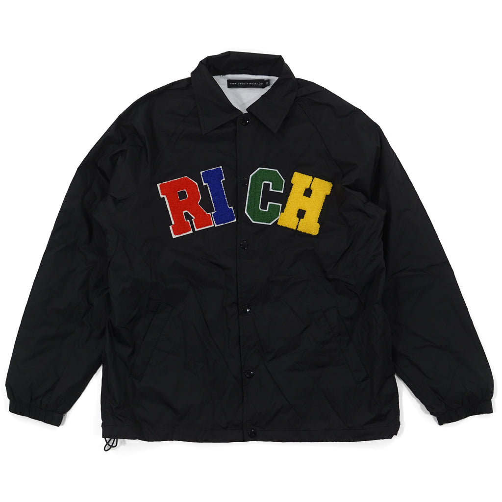 'RICH' Windbreaker