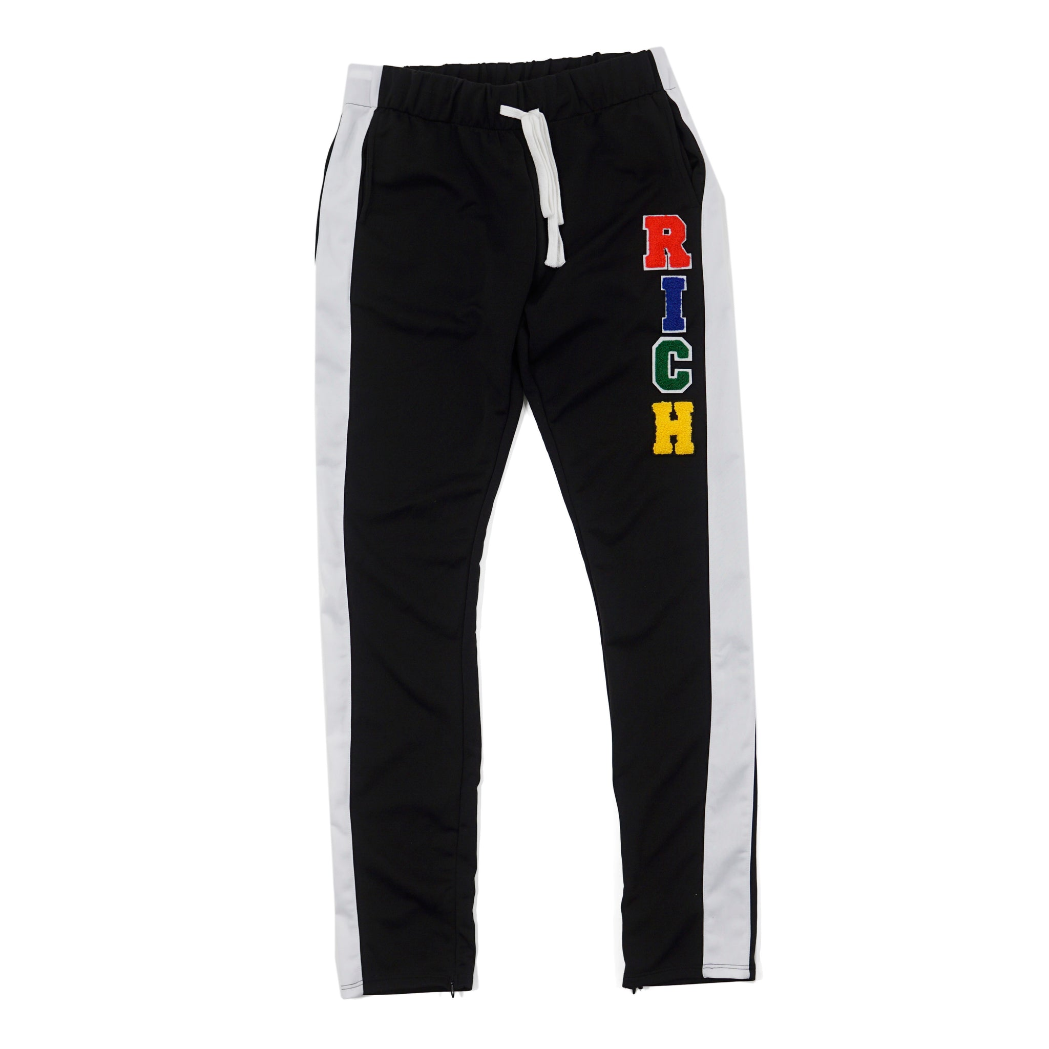 'RICH' Patch Track Joggers