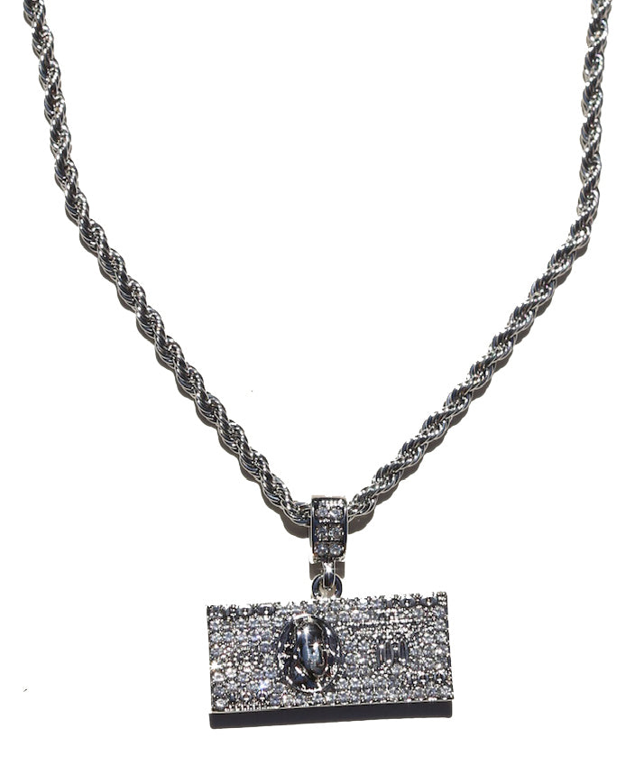 Blue Hundreds Chain (Silver)