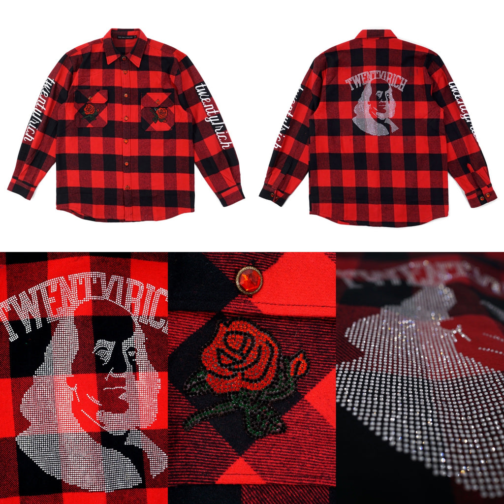 Rose Petal Flannel