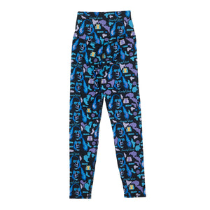 Aqua Camo Leggings