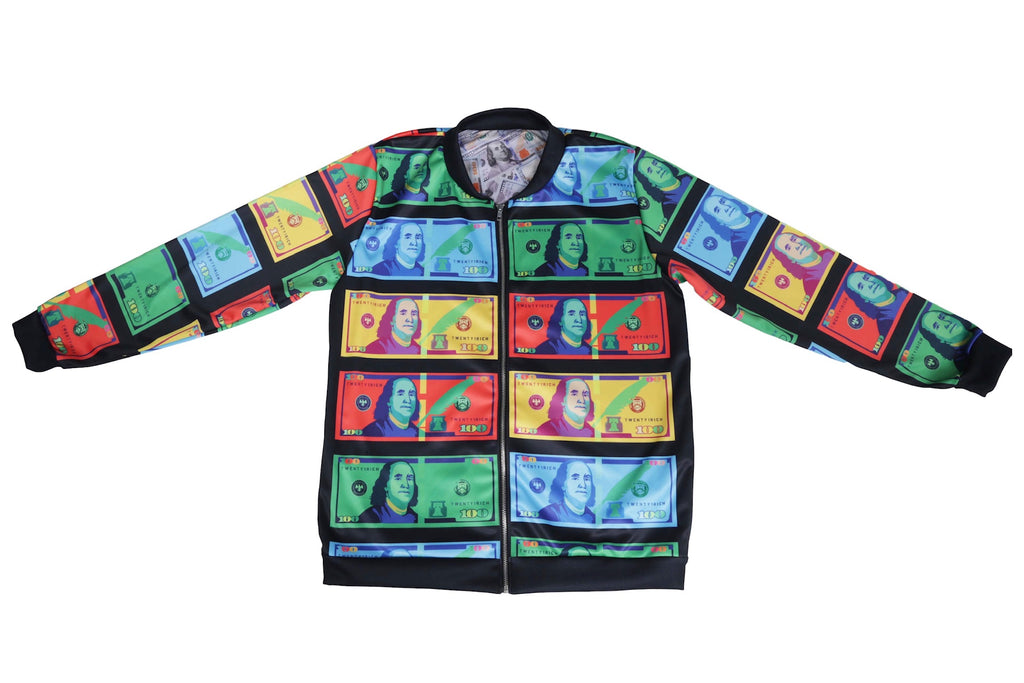 Color Money Black Bomber Jacket