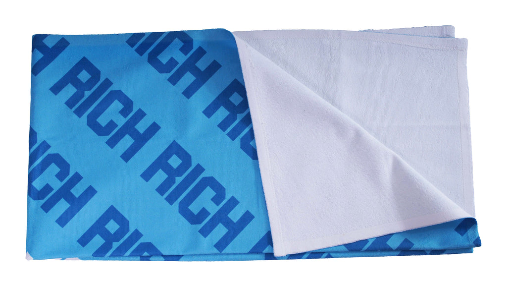 BLUE RICH BEACH TOWEL