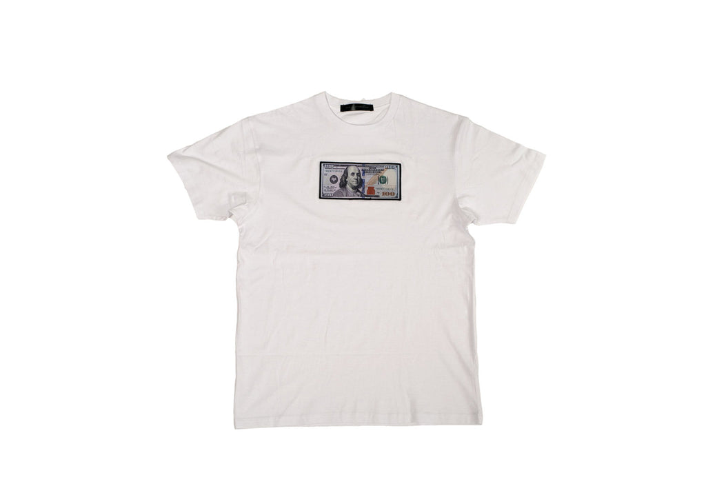 'Blue Hundreds' Tee - Twenty1Rich