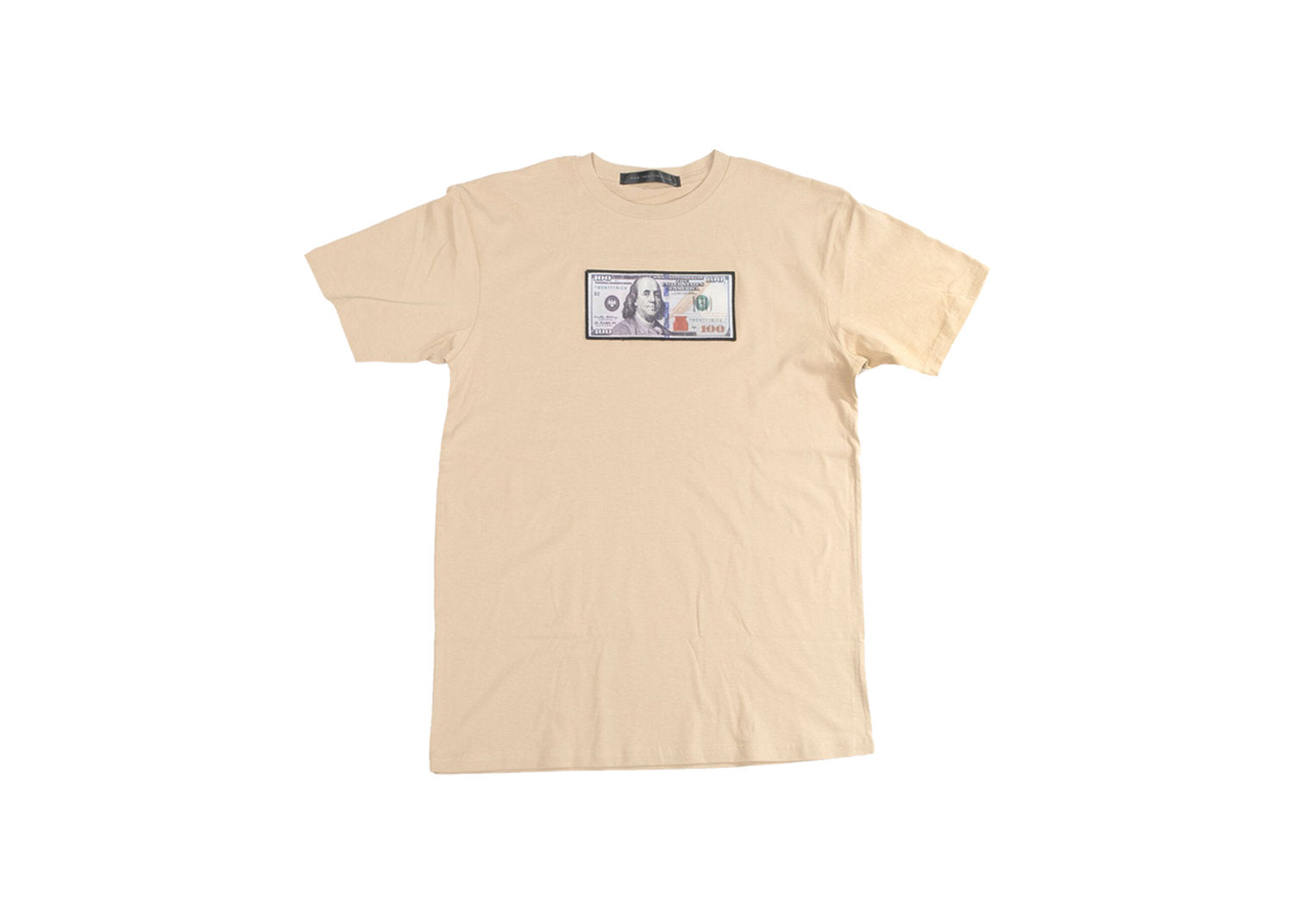 """Blue Hundreds"" Tee by Twenty1Rich with $100 logo"