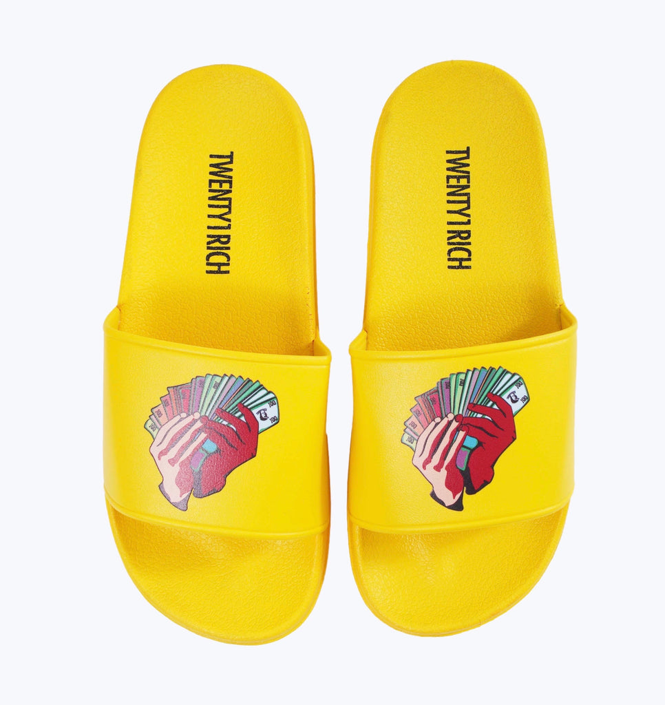 Money Fan Slides - Yellow