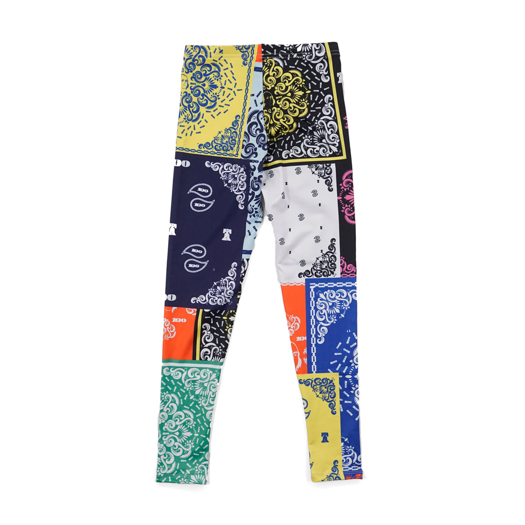 Bandana Print Leggings by Twenty one Rich 21R, Hip Hop, Rap, All over print, streetwear