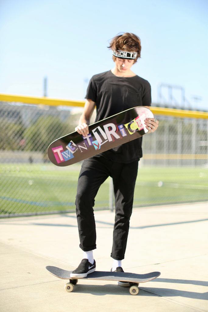 Twenty1Rich Skateboard Deck