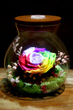 You Light Up My World - Lady Flo'rae - Unique gift handcrafted with preserved flowers