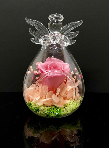 You're My Angel - Lady Flo'rae - Unique gift handcrafted with preserved flowers