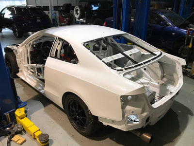 Audi A5 race car build update - Nov