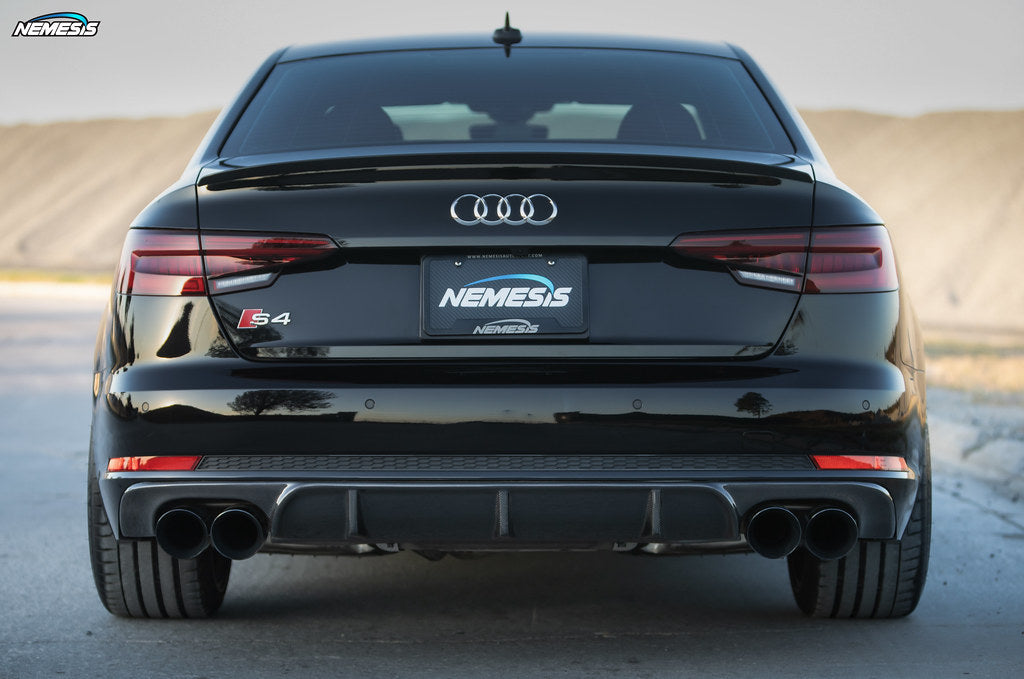 B9 S4 Deval carbon rear diffuser released