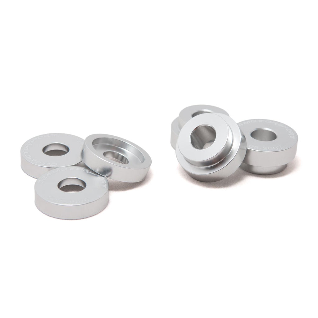 034Motorsport Billet Aluminum Shifter Bracket Bushing Kit for Manual Transmissions