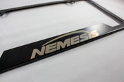 The Nemesis License Plate Frame