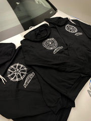 CIR Wheel Sketch Zip Up Hoodie