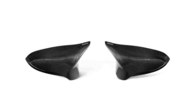 Akrapovic 2014+ BMW M3 (F80) Carbon Fiber Mirror Cap Set - High Gloss