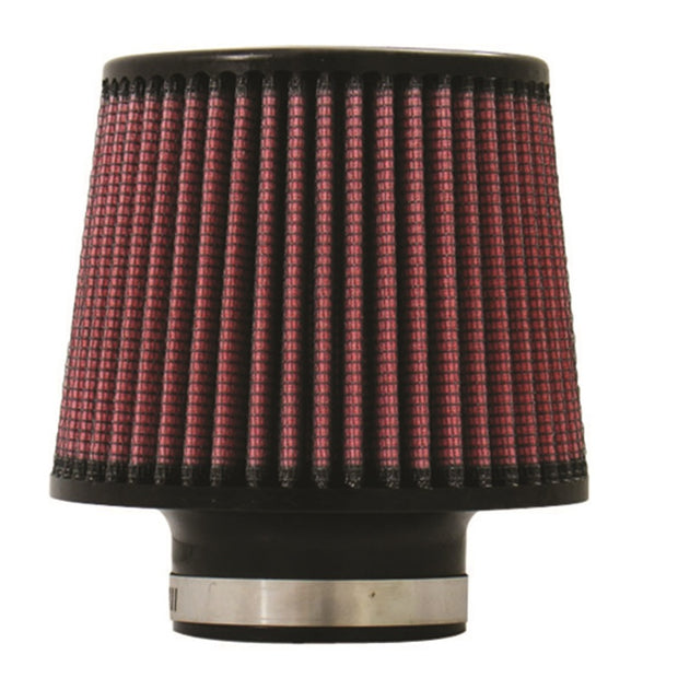 Injen High Performance Air Filter - 2.75 Black Filter 6 Base / 5 Tall / 5 Top