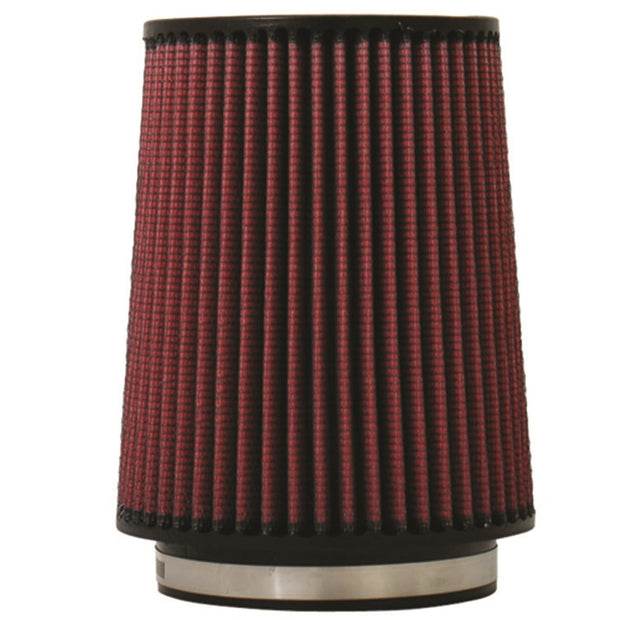 Injen High Performance Air Filter - 5 Black Filter 6 1/2 Base / 8 Tall / 5 1/2 Top