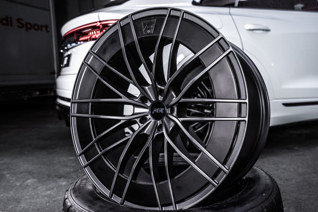 ABT HR22 dark smoke Aero wheel set for Audi A7 (C8; MY 2019 - 2020)