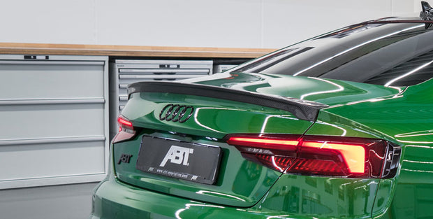 ABT Carbon Fiber Rear Spoiler for Audi A5 / S5 Coupe (B9/B9.5; MY 2018 - 2020)