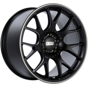 CHR - Satin Black, Polished Rim Protector