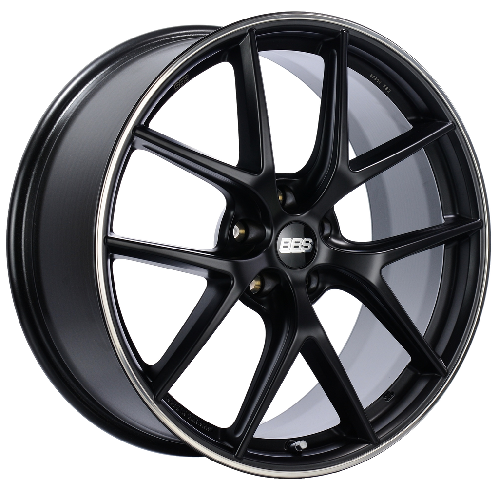 CIR - Satin Black, Polished Rim Protector