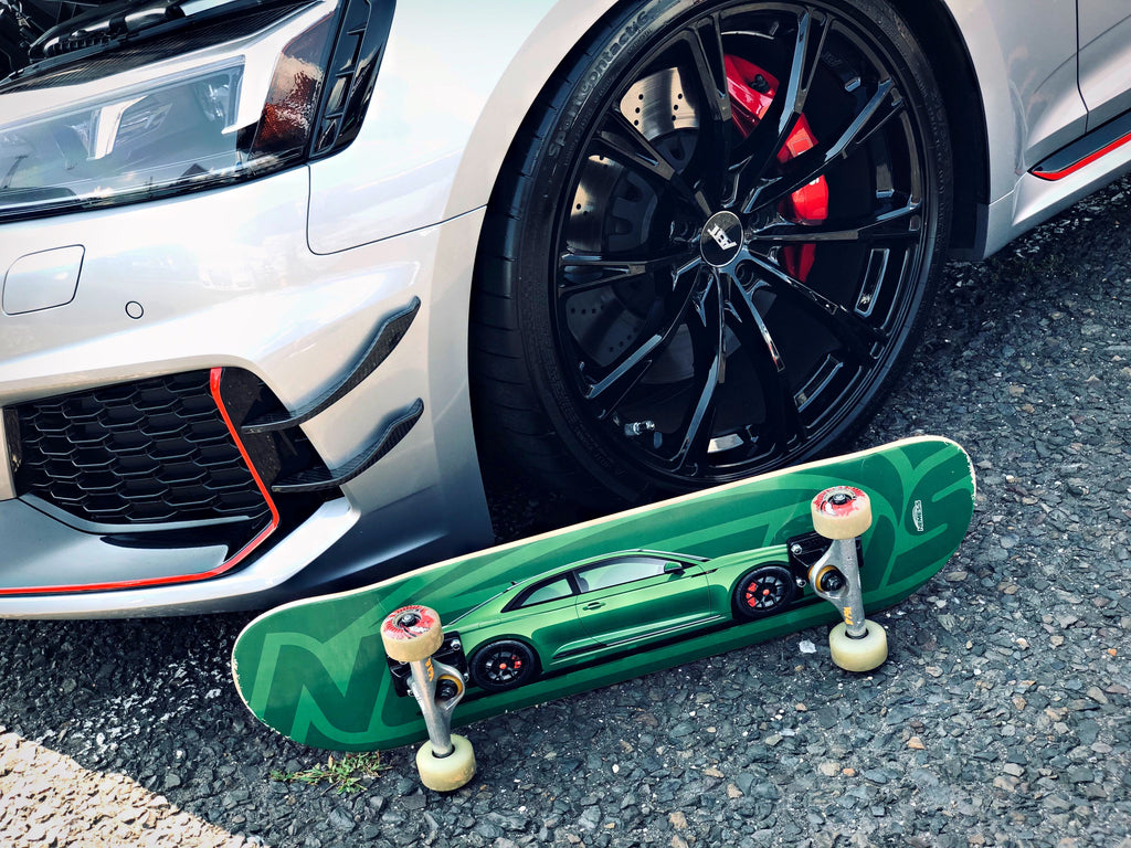 Skatedeck - Sonoma Green B9 RS5 Coupe