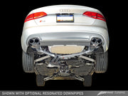 AWE Touring Edition Exhaust for Audi B8 S4 3.0T -(102mm)