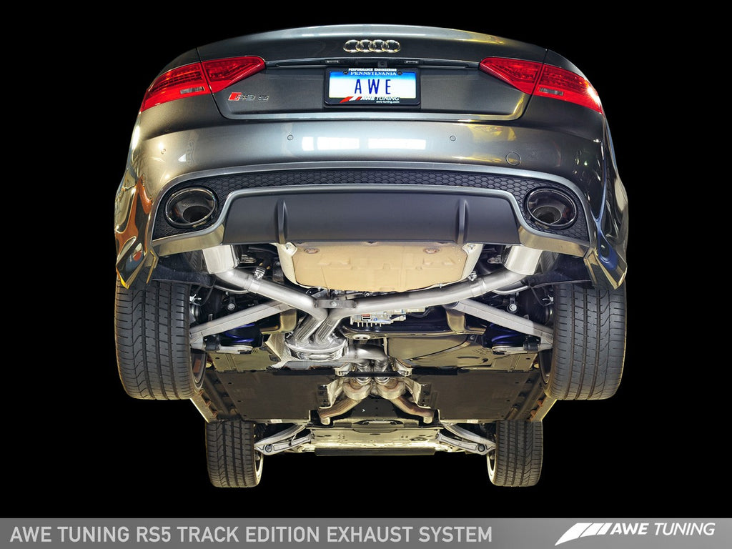 AWE Track Edition Exhaust System for Audi RS5