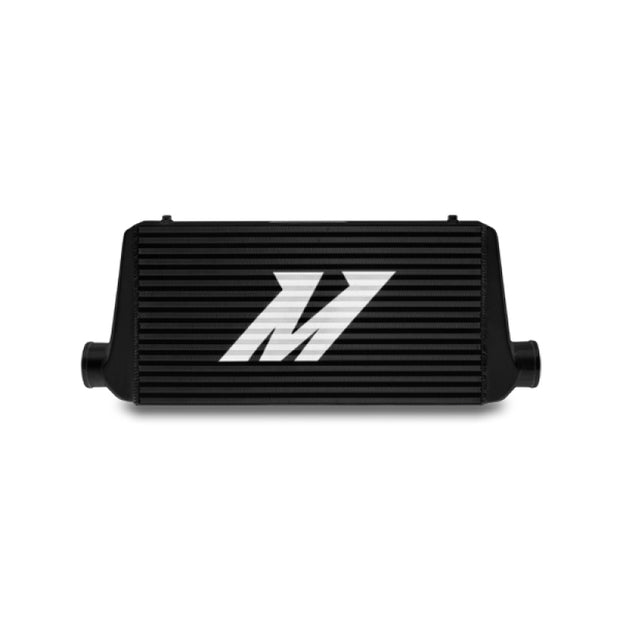 Mishimoto Universal Black R Line Intercooler Overall Size: 31x12x4 Core Size: 24x12x4 Inlet / Outlet