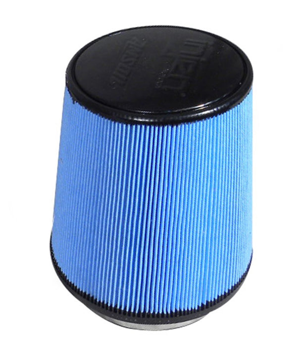 Injen Super-flow Web Nanofiber Dry Air FIlter-5in Neck/6-1/2in Base/7in Height/4-1/2in Top