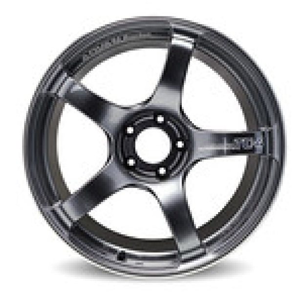 Advan TC4 18x9 +35 5-114.3 Racing Gunmetallic and Ring Wheel