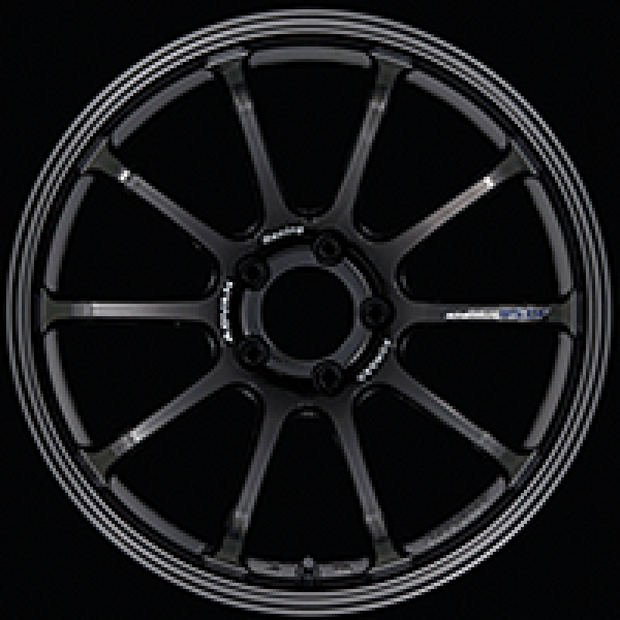 Advan RS-DF Progressive 18x10.5 +35 5-114.3 Racing Titanium Black Wheel