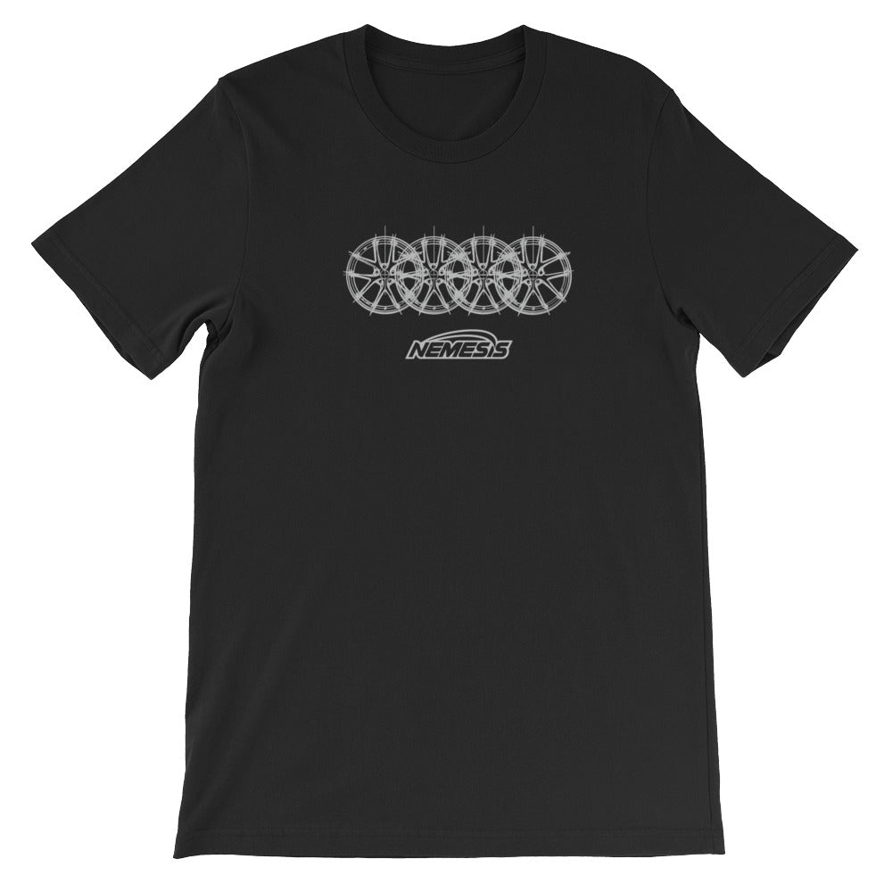 CIR 4 Rings Wheel Sketch T-Shirt