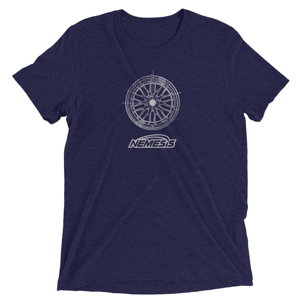 LM Wheel Sketch Tri-Blend T