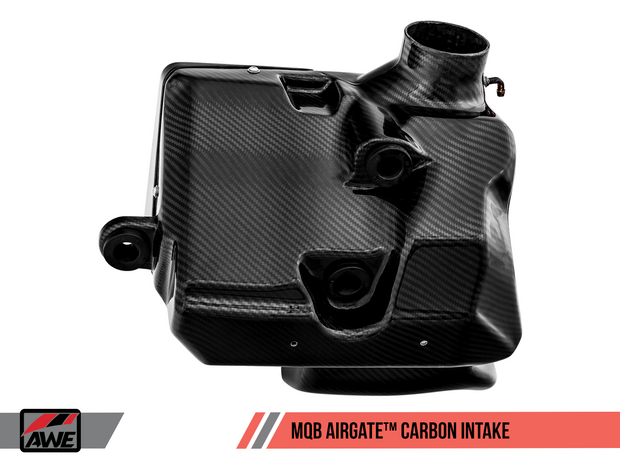 AWE AirGate™ Carbon Intake for Audi / VW MQB (1.8T / 2.0T) - With Lid