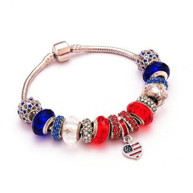 Pretty Patriot™ Charm Bracelet - 75% OFF