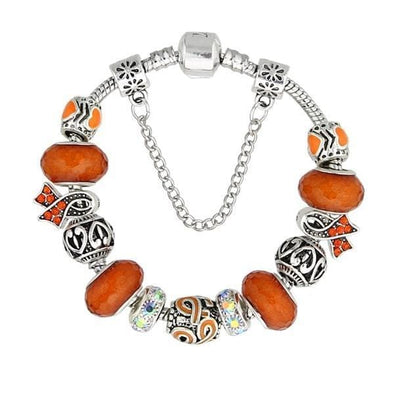 Yoga-Supreme™ Leukemia Murano Glass Bracelet