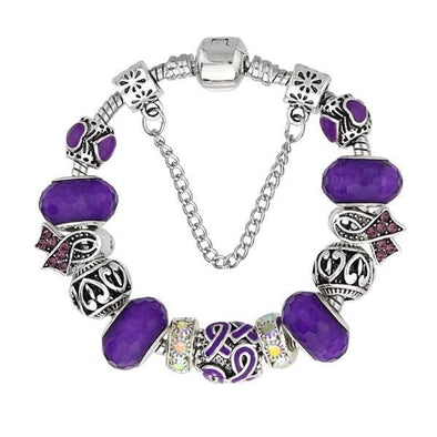 Yoga-Supreme™ Pancreas Murano Glass Bracelet