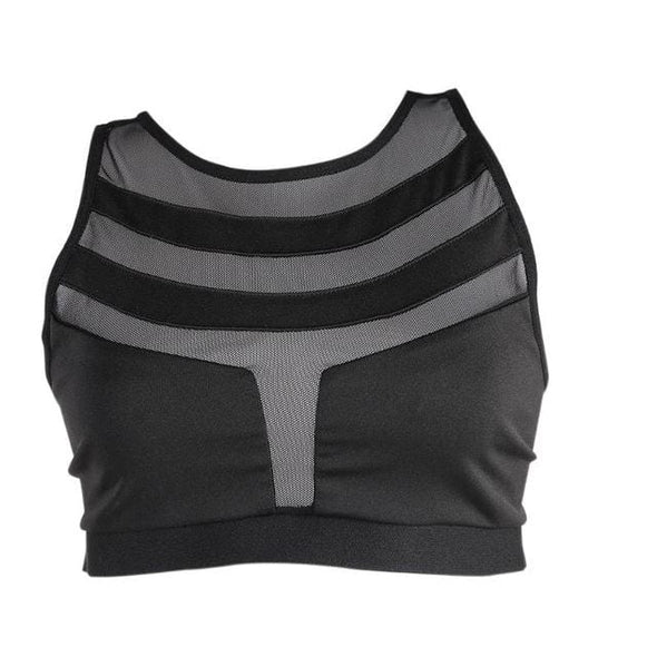 Backless Sport Bras Women Schockproof