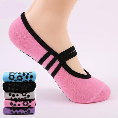 Yoga-Supreme™ Anti Slip Ballet Barre Yoga Sock