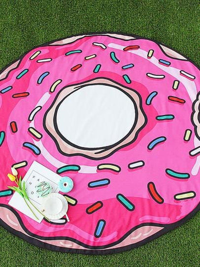 Round Fun Beach Towel